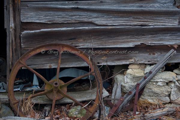 Tools and barn